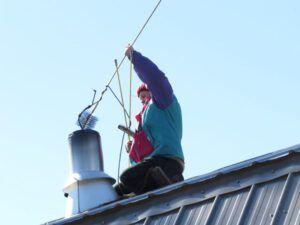 3 sweeping chimney (Spring Migration)