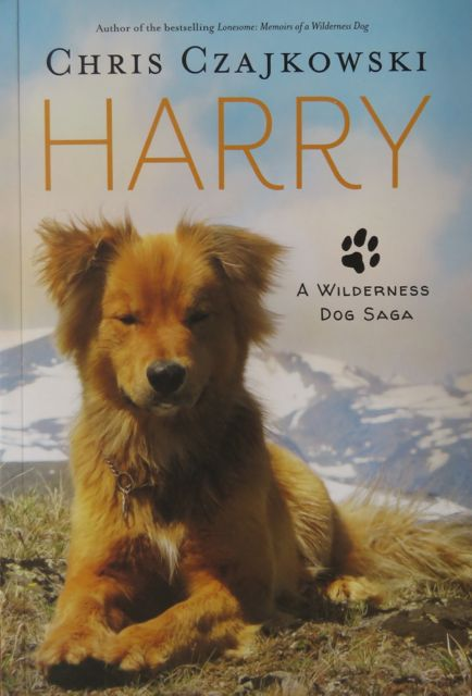 book cover for Harry: A Wilderenss Dog Saga
