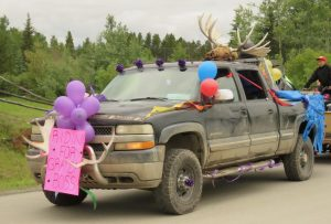 4 moose horns (Anahim Lake Rodeo)