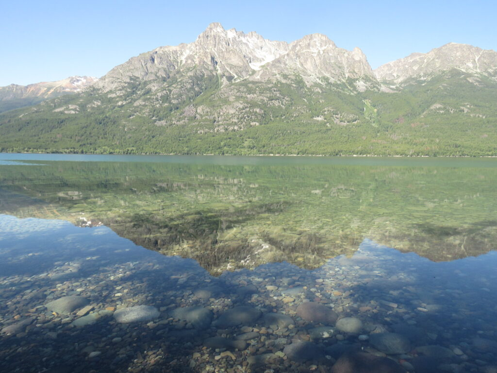 clear waters of tatlayoko lake