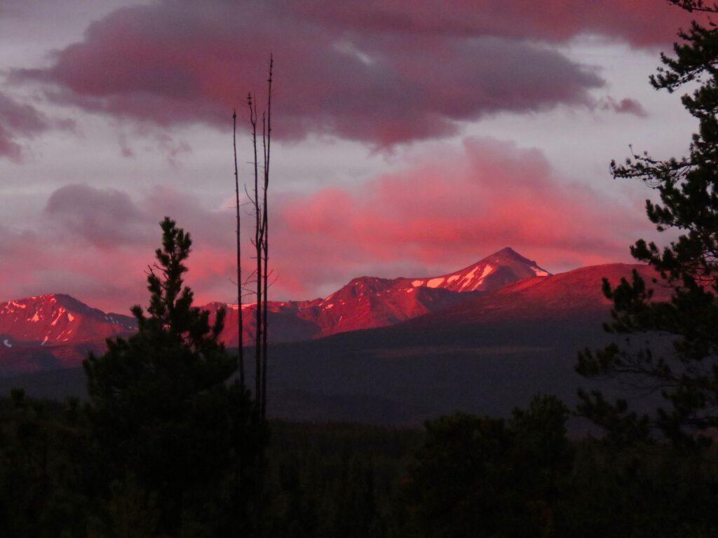 sunrise Perkins peak